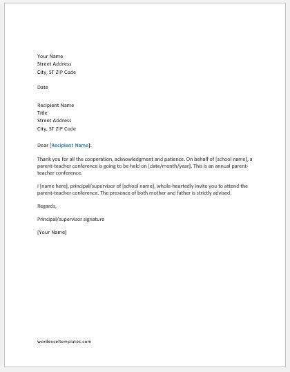 student led conferences parent letter 2016 south slope