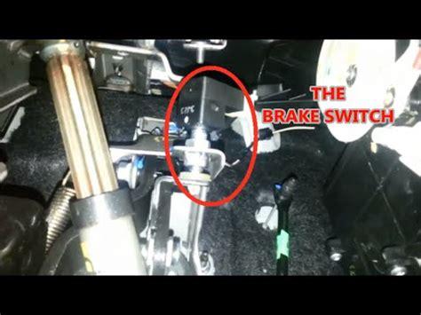 kia forte brake light switch brake switch replace how to