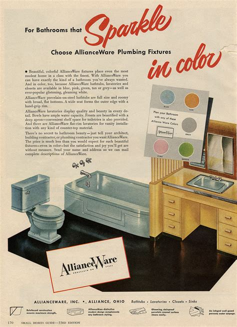 Vintage Bathroom Colors by The Color Gray In Vintage Bathrooms From 1927 To 1962