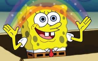 Imagination Meme - spongebob imagination meme meme generator