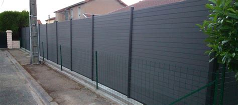 Lame De Cloture Composite 1564 by Cloture Composite Couleur Granite Cl 244 Ture Composite