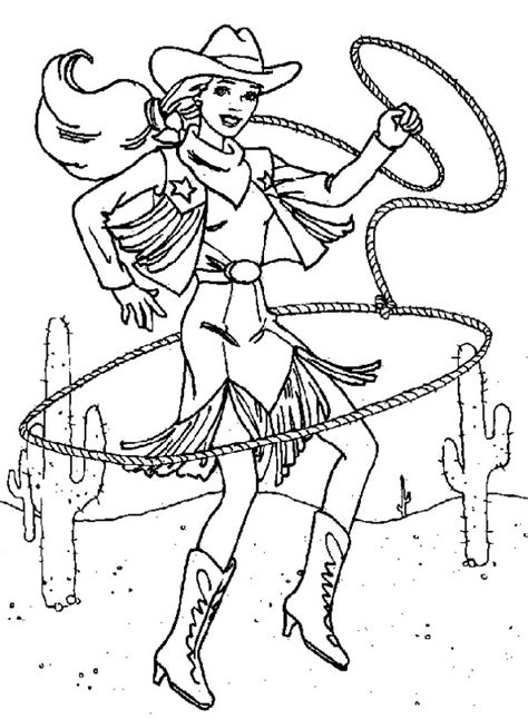 cowgirl coloring page cowgirl coloring pages to download and print for free