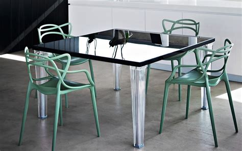 Kartell Top Top Dining Table Glass Top Kartell Philippe Kartell Dining Table