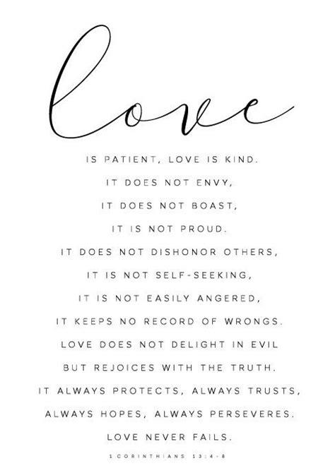 Love is patient love is kind, 1 corinthians 13, Bible