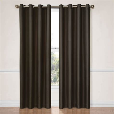 curtain rod string bacati bedding rod pocket string single curtain panel