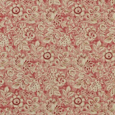 floral home decor fabric miss kitty brick floral home decor fabric by braemore