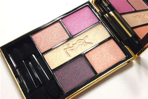 Eyeshadow Ysl maggie s makeup ysl 2014 flower crush collection pivoine crush eyeshadow palette