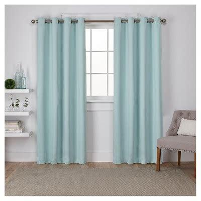 seafoam green drapes seafoam green blackout curtains target
