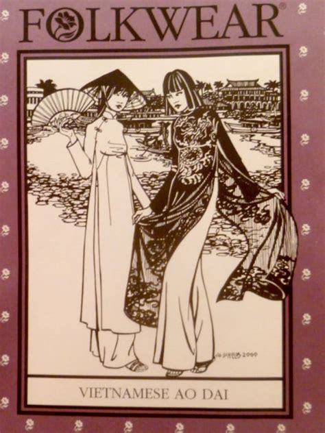 sewing pattern ao dai easy to sew sew and ao dai on pinterest