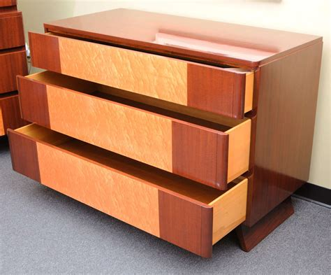 streamline moderne furniture 1940s streamline moderne dresser by rway at 1stdibs