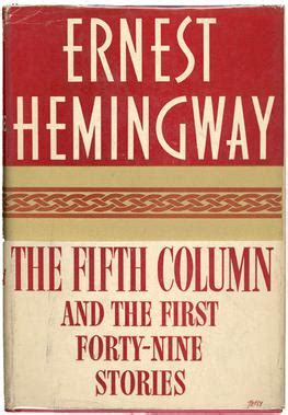 cuentos the first forty nine short story collections by ernest hemingway