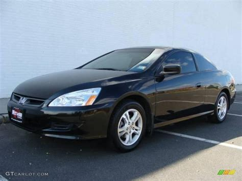 2007 nighthawk black pearl honda accord ex l coupe 21237247 gtcarlot car color galleries