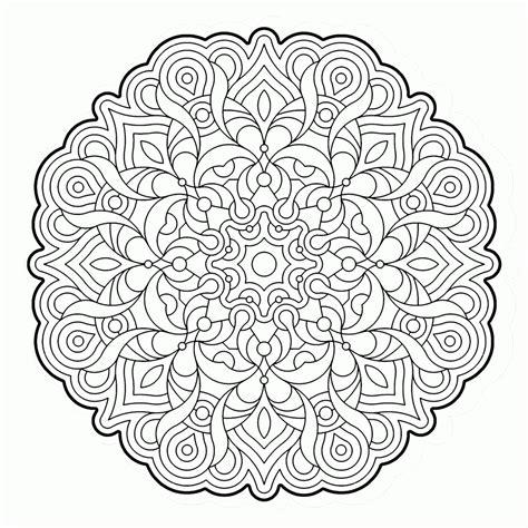 coloring pages complex designs complex geometric coloring pages coloring home