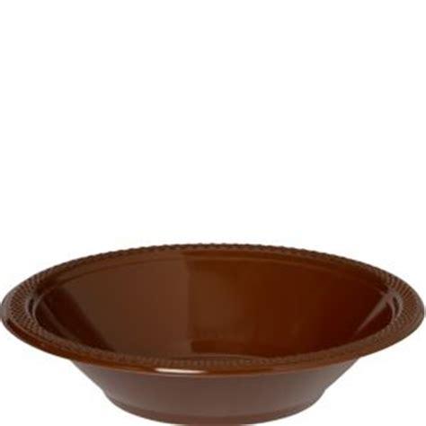 Plastic Bowl Small Brown chocolate brown plastic bowls 20ct 12oz city