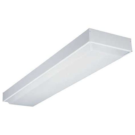 48 fluorescent light fixture home depot 48 inch fluorescent ceiling light 11232 re wh destination lighting