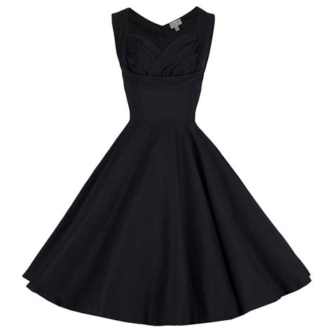 konfirmationskleider swing ophelia black swing dress vintage inspired fashion
