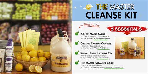 Lemon Detox Diet Kit by Products The Master Cleanse