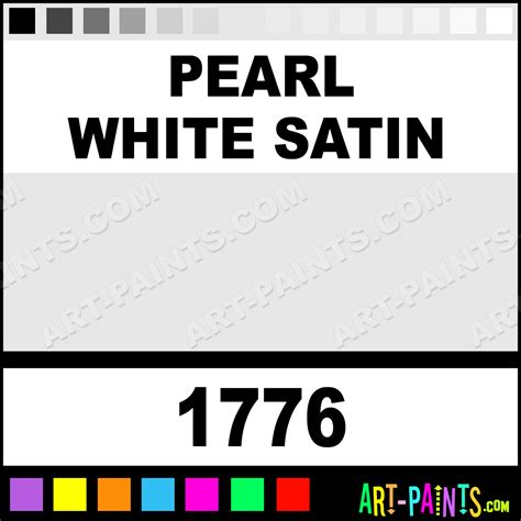 pearl white satin prism metal and metallic paints 1776 pearl white satin paint pearl white