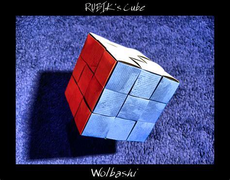 Origami Rubiks Cube - rubik s cube by wolbashi on deviantart