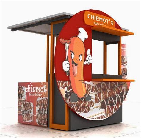 gerobak sosis bakar display waralaba