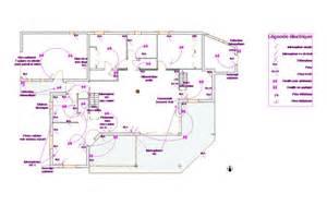 plan electrique individuelle maison moderne
