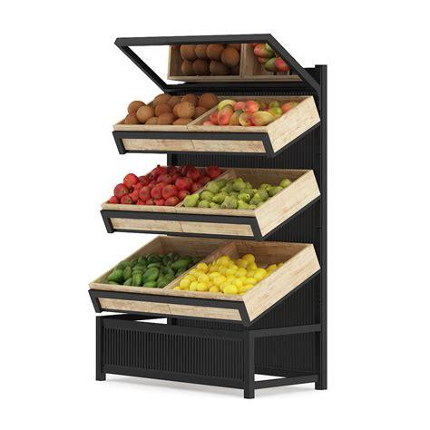 Fruit Shelf by Market Shelf Fruits 3d Model Cgtrader