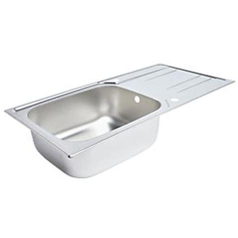 screwfix kitchen sinks kitchen sink drainer stainless steel 1 bowl 1000 x 500mm sinks screwfix com