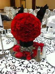 Red Flower Centerpieces - 37 elegant floral centerpieces for wedding