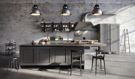cappa cucina industriale cucine in stile industriale materiche e vissute cose di