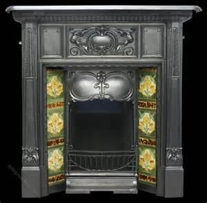 Nouveau Cast Iron Fireplace by Antiques Atlas Antique Nouveau Edwardian Cast Iron