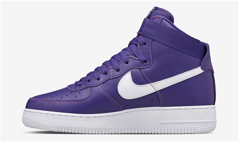 Nike Air 1 High nike air 1 high purple white sneaker bar detroit