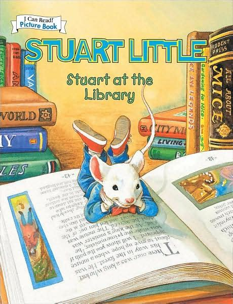 libro stuart little a puffin stuart little at the library an i can read picture book by hill hardcover barnes noble 174