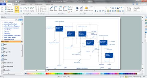 free software like visio visio flowchart create a flowchart