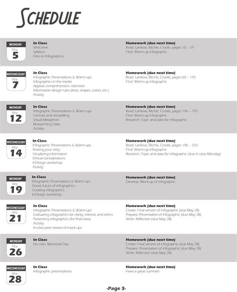 best 25 syllabus template ideas on pinterest class