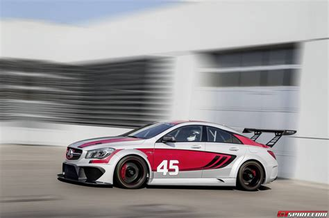 official mercedes benz cla  amg racing series concept
