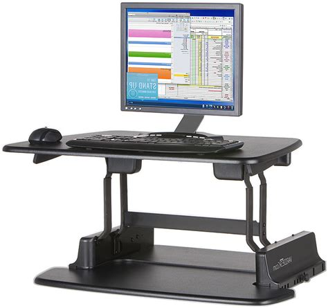 sit or stand desk sit stand desk options review and photo