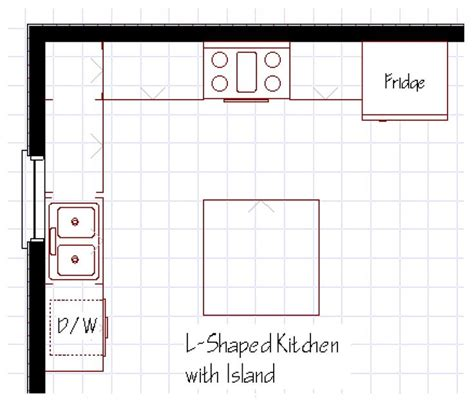 kitchen with island floor plans 25 best ideas about l shaped kitchen designs on