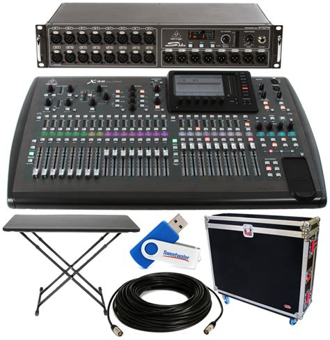 Hardcase Mixer behringer x32 32 channel digital mixer package w tour