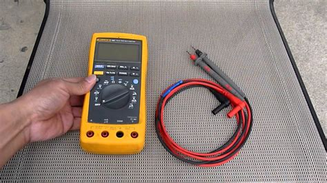Multimeter Fluke 189 fluke 187 true rms multimeter with leads