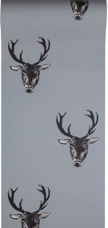stag wallpaper grey stag print wallpaper grey graduate collection graduate