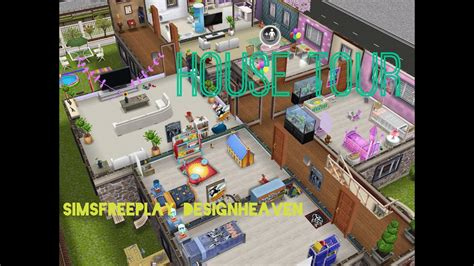 Sims Freeplay House Tour // Family Home - YouTube T 34 Blueprints