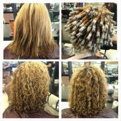 wave perm hairstyle before and after on hair before during and after spiral perm fall 2014 hair