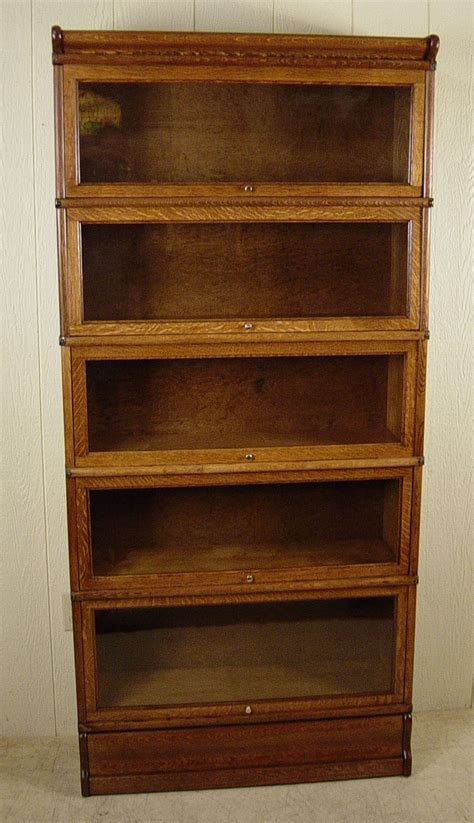 Macey Bookcase 5 Section Oak Quot Macey Quot Stacking Bookcase