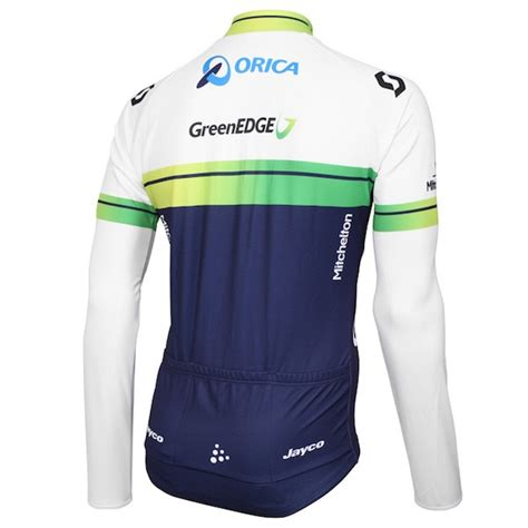 Jersey Greenedge 2015 orica greenedge cycling sleeve jersey