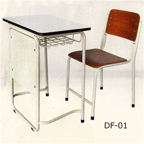 Meja Kursi Besi Sekolah meja kursi sekolah df 01 smu smp sd bursafurnitur