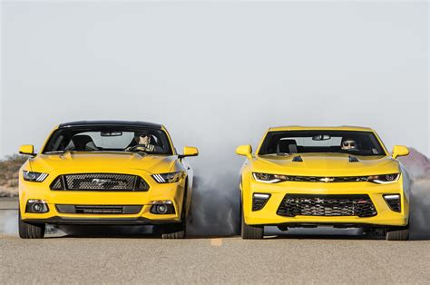 chevy camaro rs vs ss chevrolet camaro ss 2016 vs ford mustang gt 2016