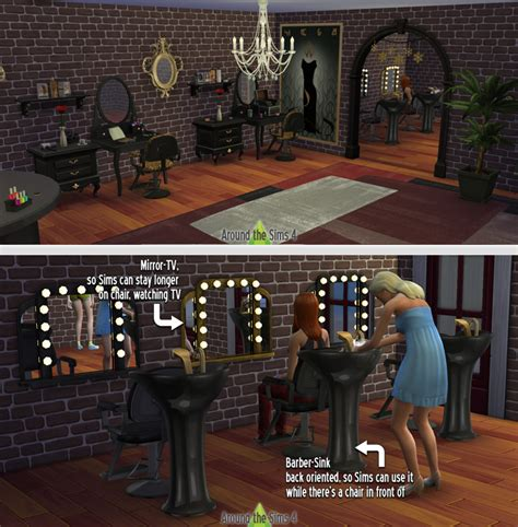 download hair salon around the sims 4 free custom content for the sims 4
