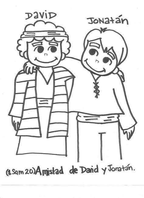 Free Coloring Pages Of Jonathan David David And Jonathan Coloring Page