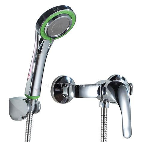 Modern Shower Faucet by Modern Brass Chrome Wall Mounted Single Handle Shower Faucet
