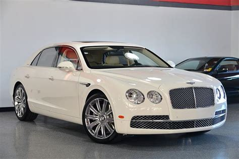 white bentley sedan white bentley flying spur for sale used cars on buysellsearch